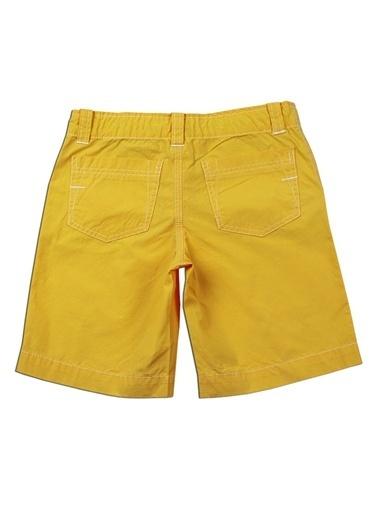 Karamela Şort Sarı